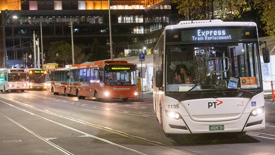 Train replacement buses