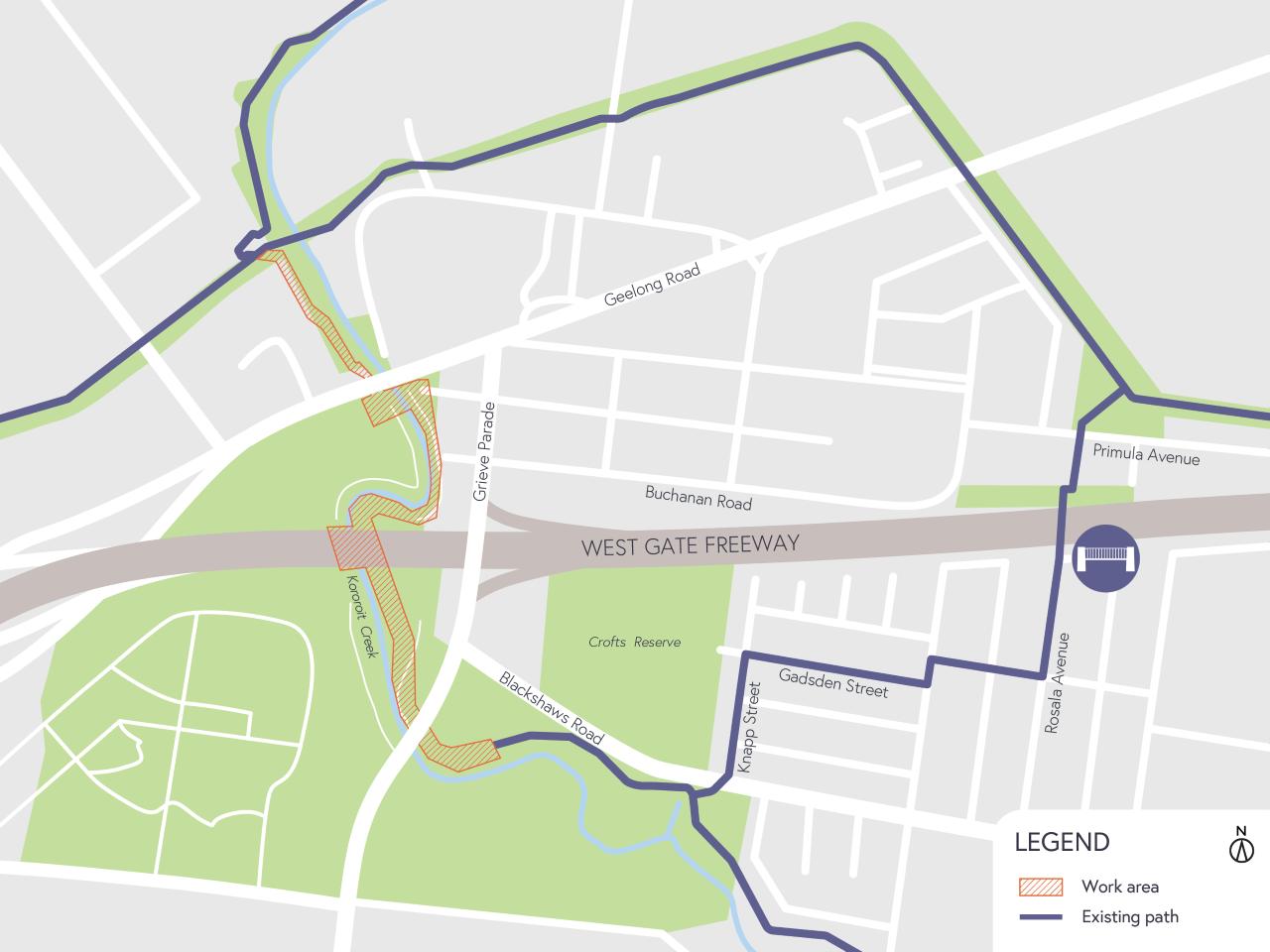 Kororoit Creek Map