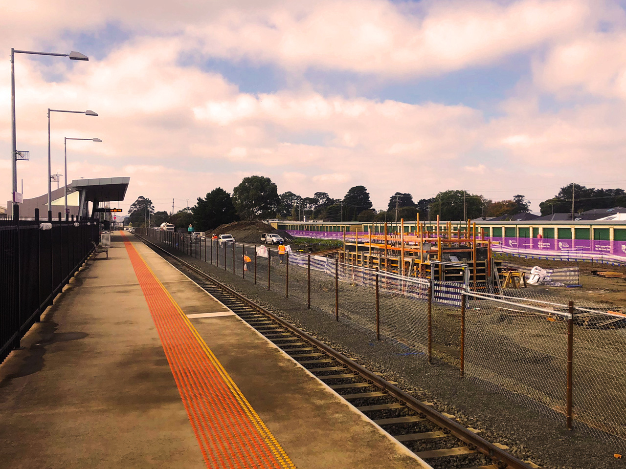 Early works for the new platform