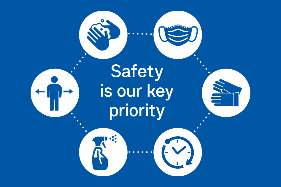 Safety is our key priority