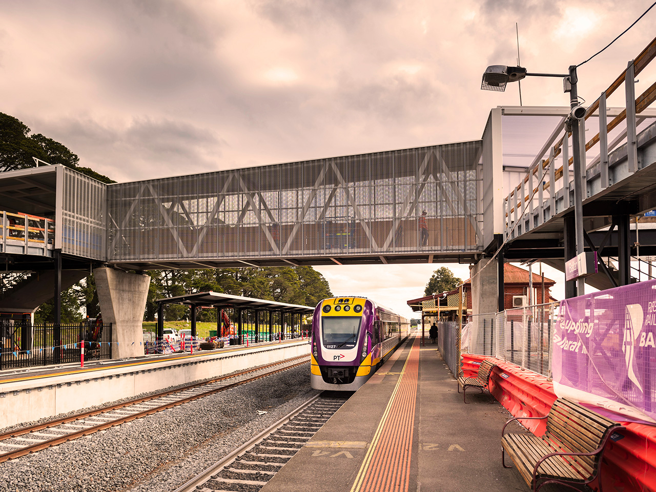 Station upgrades nearing completion