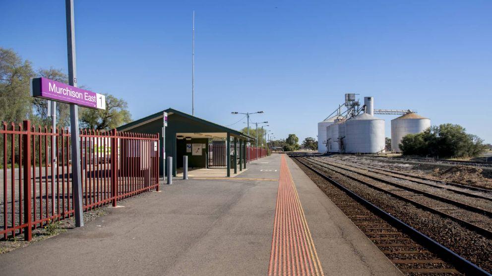 Murchison East station