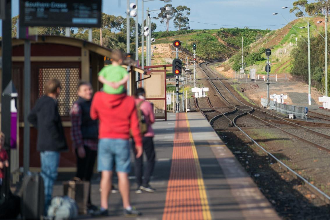Bacchus Marsh station before upgrade
