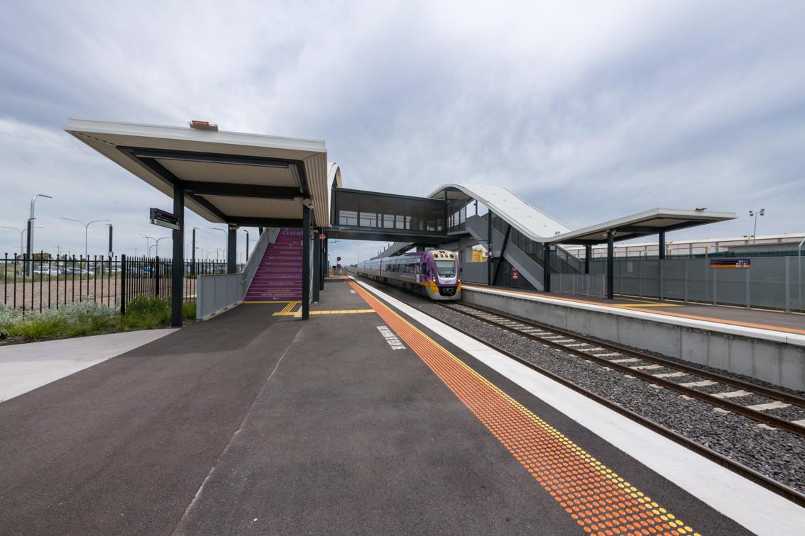 Upgraded Cobblebank station